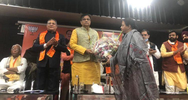 श्री ओम प्रकाश धनखड़ जी ने प्रदेश के प्रमुख कार्यकर्ताओं की बैठक ली