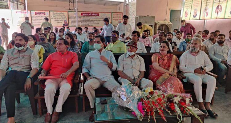 भारतीय जनता पार्टी के 41वे स्थापना दिवस  को उत्सव दिवस के रूप में मनाया गया