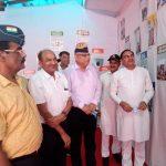 प्रधानमंत्री नरेंद्र मोदी जी के प्रेरक जीवन पर आधारित प्रदर्शनी को देखने के लिए भारी संख्या में पहुंचे नागरिक