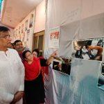 प्रधानमंत्री श्री नरेंद्र मोदी जी  के जीवन पर आधारित प्रदर्शनी का प्रदेश अध्यक्ष श्री ओमप्रकाश धनखड़ जी ने उद्घाटन किया