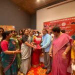 महिला मोर्चा राष्ट्रीय अध्यक्ष श्रीमती वनाथी श्रीनिवासन जी का मानेसर पहुंचने पर हुआ जोरदार स्वागत