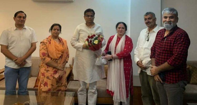 वार्ड नं 34 निगम उपचुनाव में भाजपा प्रत्याशी श्रीमती रमा रानी राठी की हुई शानदार जीत